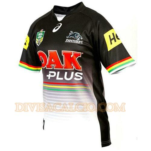 maglia rugby penrith panthers 2017 prima - nero uomo